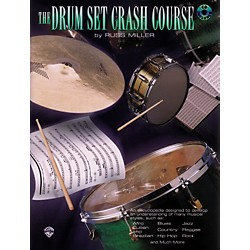 Alfred The Drum Set Crash Course With Russ Miller (00-PERC9611CD)
