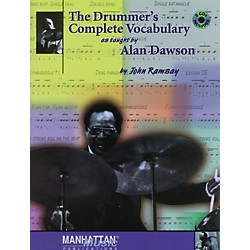 Alfred The Drummer's Complete Vocabulary As Taught by Alan Dawson Book & 2 CDs (00-0123B)