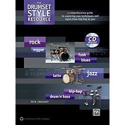 Alfred The Drumset Style Resource Book & CD (00-39301)