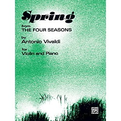 Alfred The Four Seasons: Spring for Violin By Antonio Vivaldi Book (00-SI00162)