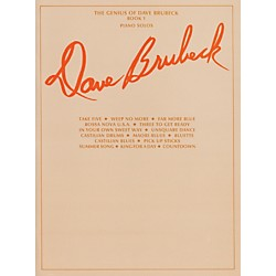Alfred The Genius of Dave Brubeck for Piano, Book 1 (00-TPF0130)