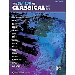 Alfred The Giant Book of Classical Sheet Music Easy Piano Book (00-42435)