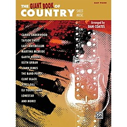 Alfred The Giant Book of Country Sheet Music Easy Piano Book (00-42370)