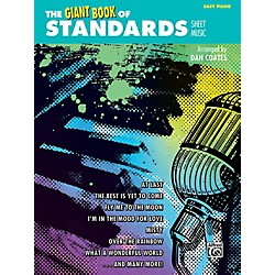 Alfred The Giant Book of Standards Sheet Music Easy Piano Book (00-42388)