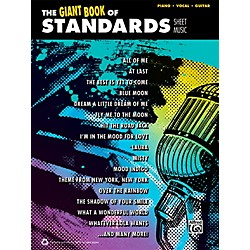 Alfred The Giant Book of Standards Sheet Music P/V/C Book (00-40788)