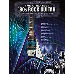 Alfred The Greatest '80s Rock Guitar Book (701554)