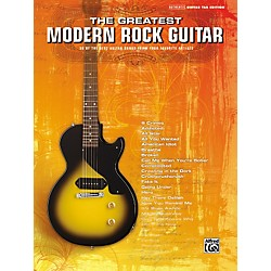 Alfred The Greatest Modern Rock Guitar Tab Songbook (701553)