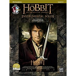 Alfred The Hobbit: An Unexpected Journey Instrumental Solos Alto Sax (Book/CD) (00-40973)