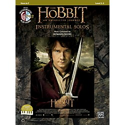 Alfred The Hobbit: An Unexpected Journey Instrumental Solos Horn in F (Book/CD) (00-40982)