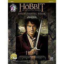 Alfred The Hobbit: An Unexpected Journey Instrumental Solos for Strings Violin (Book/CD) (00-40988)