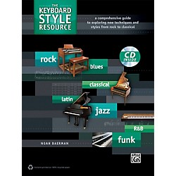 Alfred The Keyboard Style Resource Book & CD (00-39298)