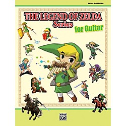 Alfred The Legend of Zelda Series for Guitar Book (00-38589)