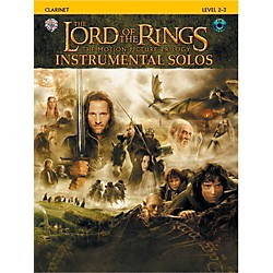 Alfred The Lord of the Rings Instrumental Solos Clarinet (Book & CD) (00-IFM0405CD)