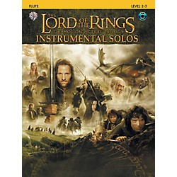Alfred The Lord of the Rings Instrumental Solos Flute Book & CD (00-IFM0404CD)