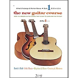 Alfred The New Guitar Course Book 1 (00-314)