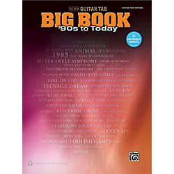 Alfred The New Guitar TAB Big Book '90s to Today (00-42430)