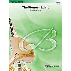 Alfred The Pioneer Spirit Concert Band Grade 2 Set (00-30782)