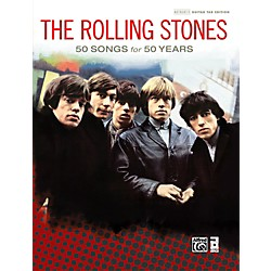 Alfred The Rolling Stones - 50 Songs for 50 Years Hardcover Guitar TAB Book (00-40845)