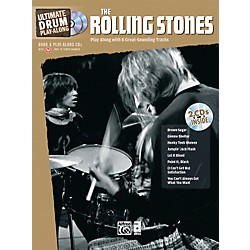 Alfred The Rolling Stones Ultimate Drum Play-Along (Book/2 CD) (00-33604)