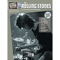 Alfred The Rolling Stones Ultimate Guitar Play-Along (Book/2 CD) (00-33598)