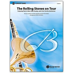 Alfred The Rolling Stones on Tour Concert Band Grade 3 Set (00-39550)