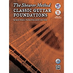 Alfred The Shearer Method: Classic Guitar Foundations (Book, CD & DVD) (98-40784)