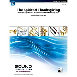Alfred The Spirit of Thanksgiving Concert Band Grade 1.5 Set (00-41910)