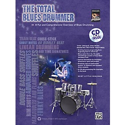 Alfred The Total Blues Drummer  Book/CD (00-34375)