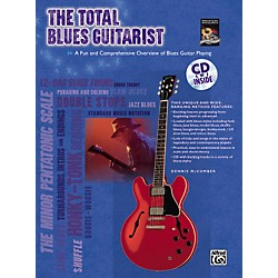 Alfred The Total Blues Guitarist Book and CD (00-24420)