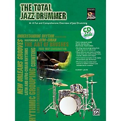 Alfred The Total Jazz Drummer Book and CD (00-24429)