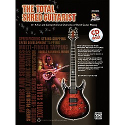 Alfred The Total Shred Guitarist Book & CD (00-36573)