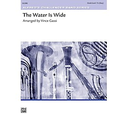 Alfred The Water Is Wide Concert Band Grade 1.5 Set (00-41920)