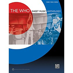 Alfred The Who - Sheet Music Anthology Piano/Vocal/Guitar Book (00-41402)
