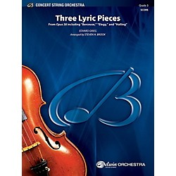 Alfred Three Lyric Pieces String Orchestra Grade 3 Set (00-41226)