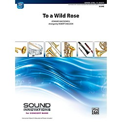 Alfred To a Wild Rose from Woodland Sketches Op. 51 Concert Band Grade 1.5 Set (00-41911)