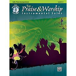 Alfred Top Praise & Worship Instrumental Solos - Cello, Level 2-3 (Book/CD) (00-34252)