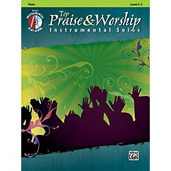Alfred Top Praise & Worship Instrumental Solos - Flute Level 2-3 Book/CD (00-34222)
