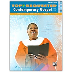Alfred Top-Requested Contemporary Gospel Sheet Music - P/V/C Book (00-40539)