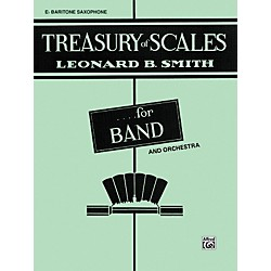 Alfred Treasury of Scales for Band and Orchestra 1st B-Flat Clarinet (00-EL01872)