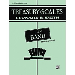 Alfred Treasury of Scales for Band and Orchestra B-Flat Tenor Saxophone (00-EL01881)