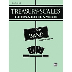 Alfred Treasury of Scales for Band and Orchestra Baritone B.C. (00-EL01894)