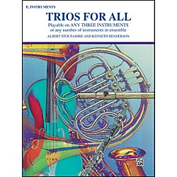 Alfred Trios for All Alto Saxophone (E-Flat Saxes & E-Flat Clarinets) (00-PROBK01395)