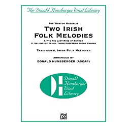 Alfred Two Irish Folk Melodies Concert Band Grade 4 Set (00-42232)