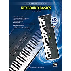 Alfred Ultimate Beginner Keyboard Basics (Revised Edition) Book & CD (00-UBSBK200R)