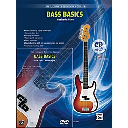 Alfred Ultimate Beginner Mega Pak Bass Basics (Revised Ed.) Book, CD & DVD (00-DVD2000R)