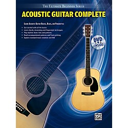 Alfred Ultimate Beginner Series: Acoustic Guitar Complete (Book/DVD) (00-31450)