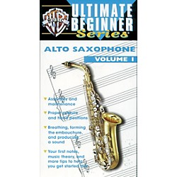 Alfred Ultimate Beginner Series: Alto Saxophone, Volume I Video (00-VH0388)