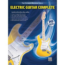 Alfred Ultimate Beginner Series: Electric Guitar Complete (Book/DVD) (00-31446)