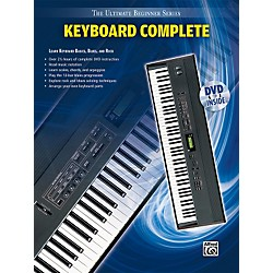 Alfred Ultimate Beginner Series: Keyboard Complete (Book/DVD) (00-31438)