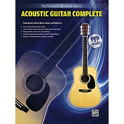 Alfred Ultimate Beginner Series Acoustic Guitar Complete Book & DVD (00-31447)